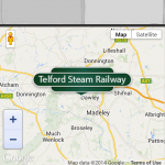 Telford Mobile Map